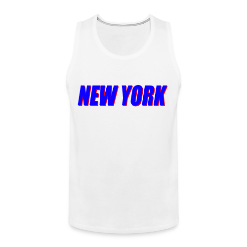 Giants - New York - Men's Premium Tank Top