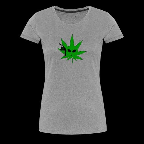 Alien Weed - Women's Premium T-Shirt