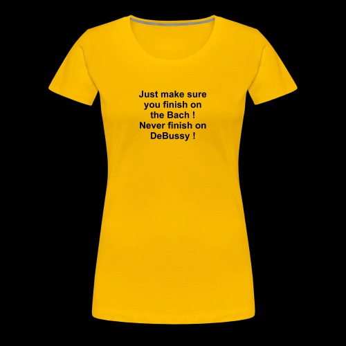 Classic Music Playlist Sugestion - Women's Premium T-Shirt