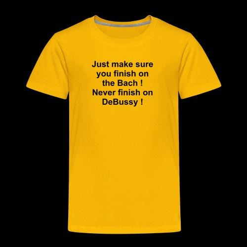 Classic Music Playlist Sugestion - Kids' Premium T-Shirt