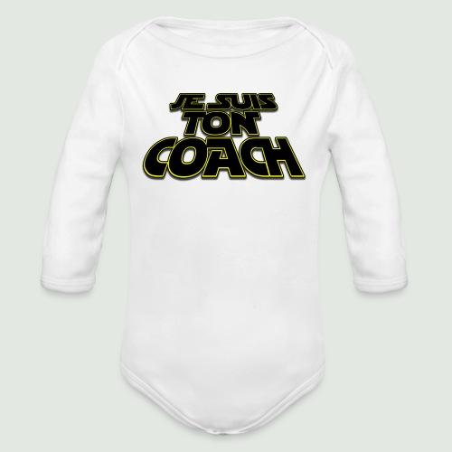 Je suis ton coach - Body Bébé bio manches longues