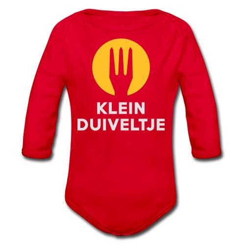 Klein duiveltje - Belgium - Belgie - Body bébé bio manches longues