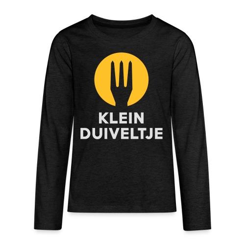 Klein duiveltje - Belgium - Belgie - T-shirt manches longues Premium Ado