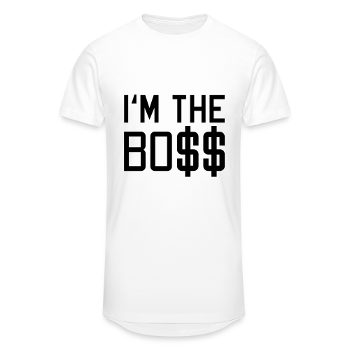 The Boss-Neonorange - Männer Urban Longshirt