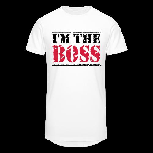 The Boss-Schwarz/ Rot - Männer Urban Longshirt