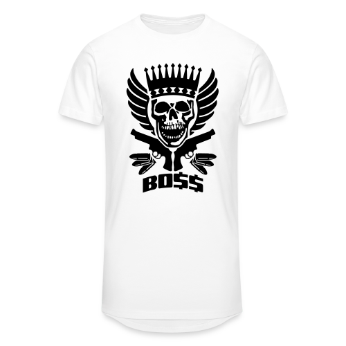 Skrull-Boss & Guns - Männer Urban Longshirt