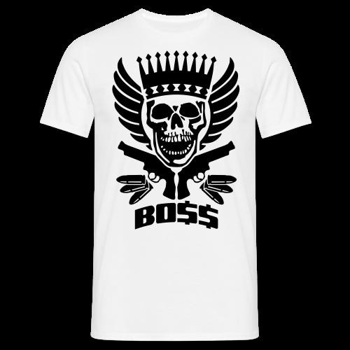 Skrull-Boss & Guns - Männer T-Shirt
