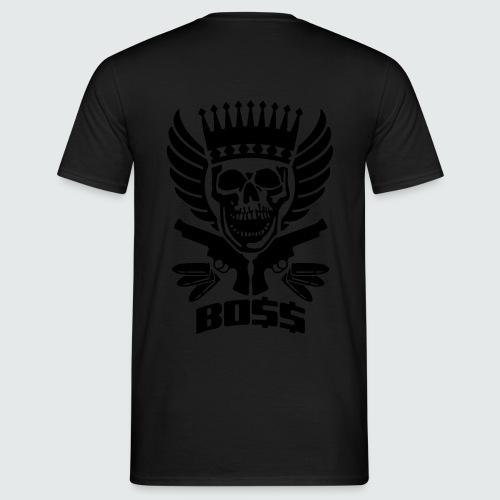 Skull Boss / Rot - Männer T-Shirt