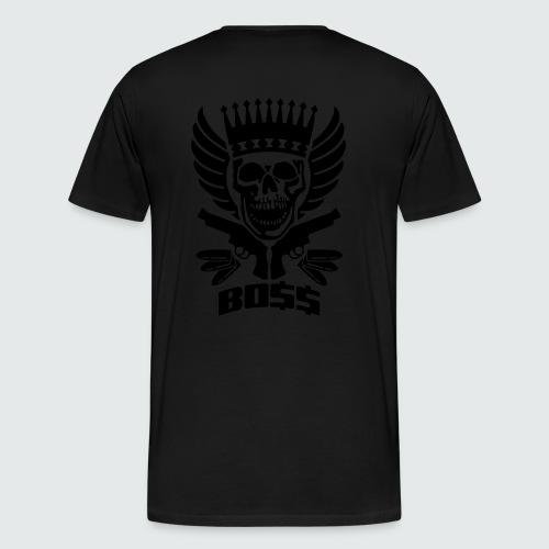 Skull Boss / Rot - Männer Premium T-Shirt