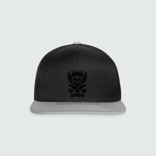 Skull Boss / Rot - Snapback Cap