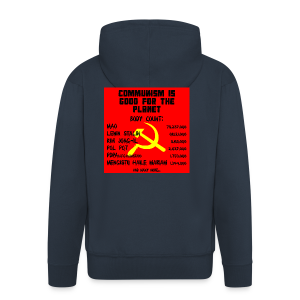 Communism Is Good For You - Men's Premium Hooded Jacket