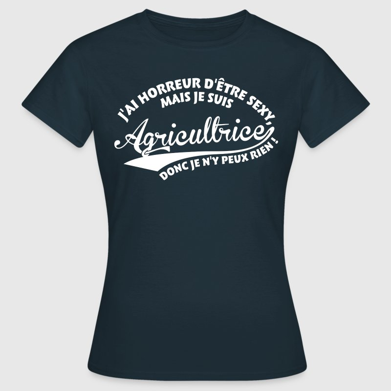 Sexy Agricultrice Tee shirts - T-shirt Femme