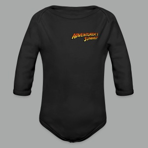 Adventurer's Summit Logo - Baby Bio-Langarm-Body