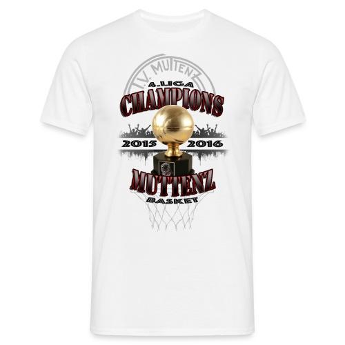 HU16 CHAMPIONS 2015 / 16 - Männer T-Shirt