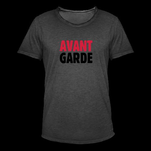 Avantgarde T-Shirt - Männer Vintage T-Shirt
