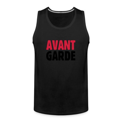 Avantgarde T-Shirt - Männer Premium Tank Top
