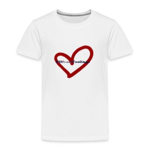 DJHeartFeelings - Teddy - Kinder Premium T-Shirt