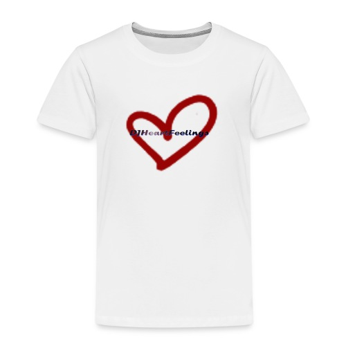 DJHeartFeelings - Teddy - Kinder Premium T-Shirt