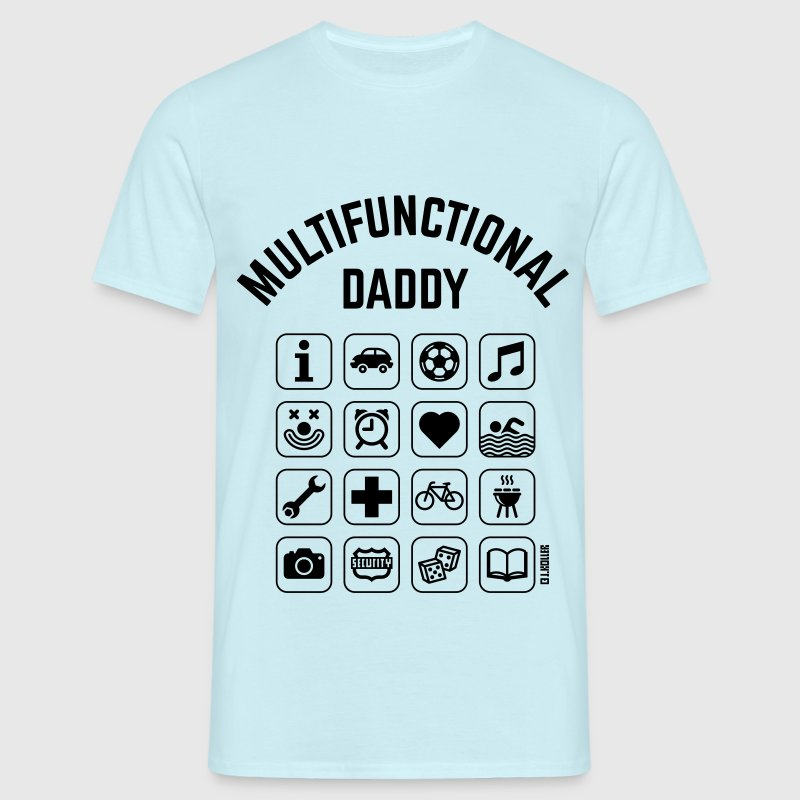 Multifunctional Daddy (16 Icons) T-Shirts - Männer T-Shirt