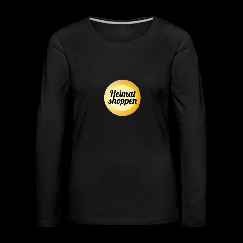 Heimat shoppen - Frauen Premium Langarmshirt