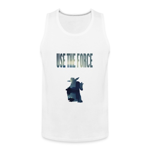 USE THE FORCE - Männer Premium Tank Top