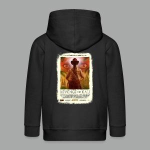 Revenge of Kali Poster, Grunge - Kinder Premium Kapuzenjacke