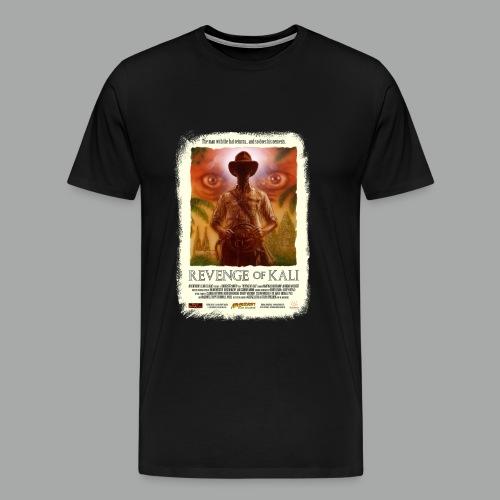 Revenge of Kali Poster, Grunge - Männer Premium T-Shirt