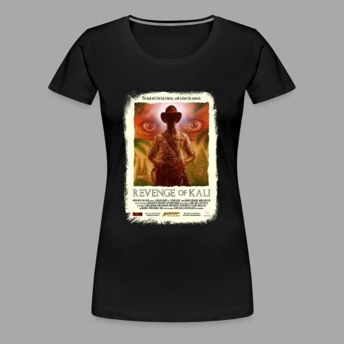 Revenge of Kali Poster, Grunge - Frauen Premium T-Shirt