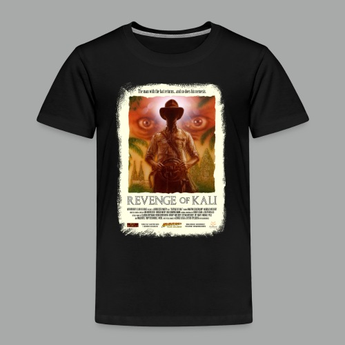 Revenge of Kali Poster, Grunge - Kinder Premium T-Shirt