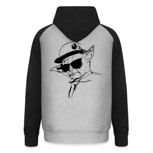 Premium Männer T-Shirt - Unisex Baseball Hoodie
