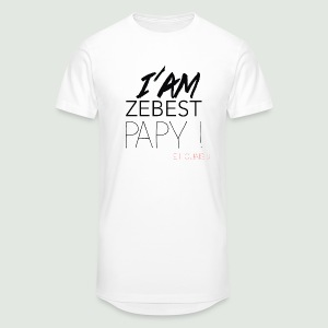 Ze best PAPY ! - T-shirt long Homme