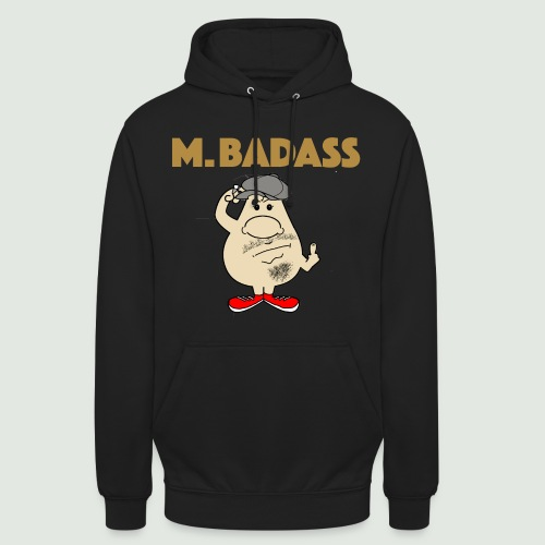 Mr Badass - Sweat-shirt à capuche unisexe