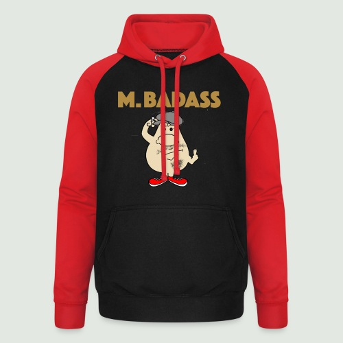 Mr Badass - Sweat-shirt baseball unisexe