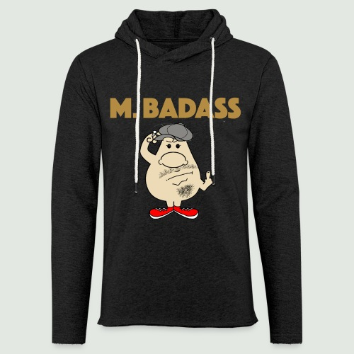Mr Badass - Sweat-shirt à capuche léger unisexe