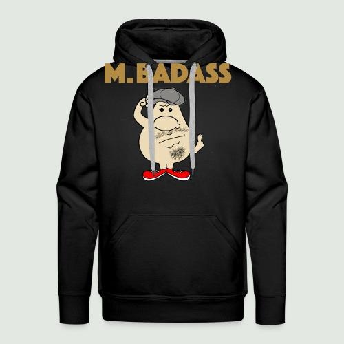 Mr Badass - Sweat-shirt à capuche Premium pour hommes