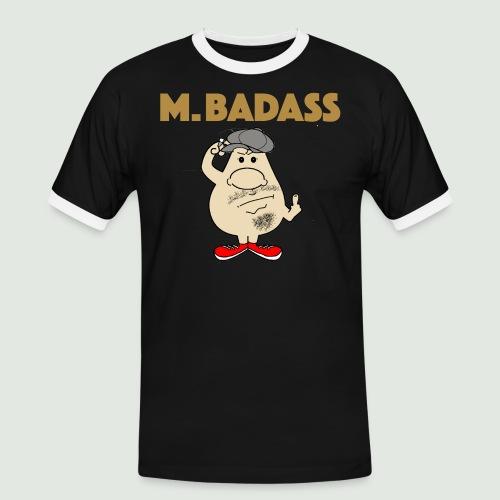 Mr Badass - T-shirt contrasté Homme