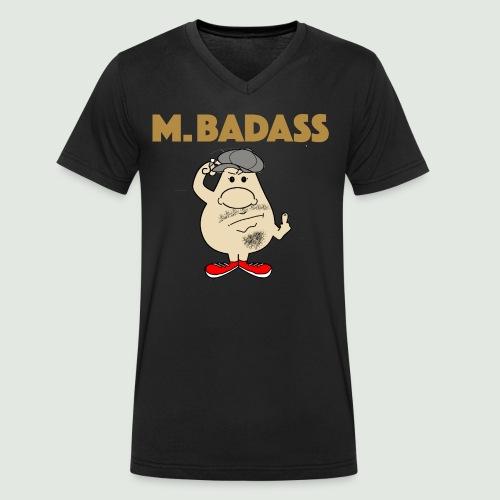 Mr Badass - T-shirt bio col V Stanley & Stella Homme