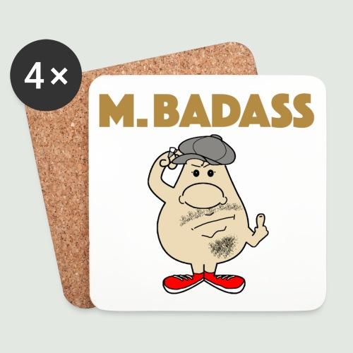 Mr Badass - Dessous de verre (lot de 4)