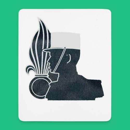 légionnaire flamme et képi blanc - Tapis de souris (format portrait)