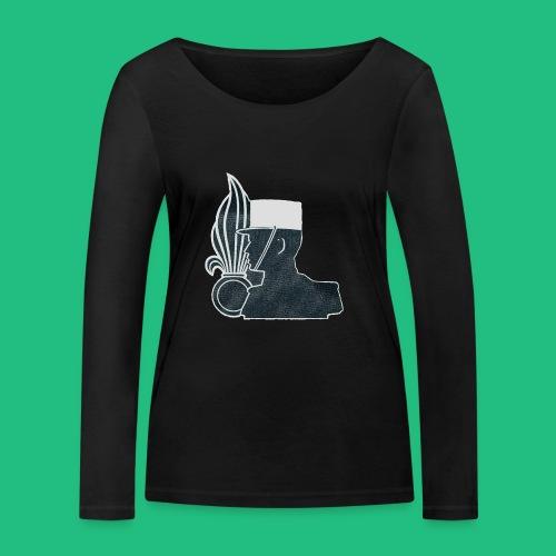 légionnaire flamme et képi blanc - T-shirt manches longues bio Stanley & Stella Femme