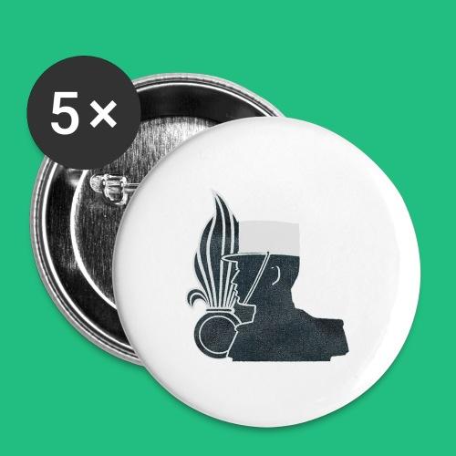 légionnaire flamme et képi blanc - Badge petit 25 mm