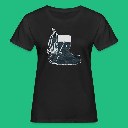 légionnaire flamme et képi blanc - T-shirt bio Femme