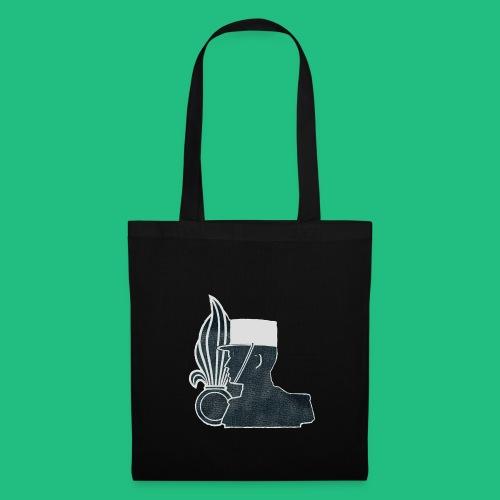 légionnaire flamme et képi blanc - Tote Bag