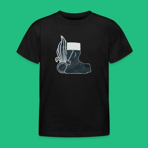 légionnaire flamme et képi blanc - T-shirt Enfant