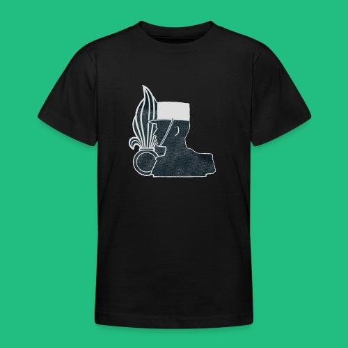légionnaire flamme et képi blanc - T-shirt Ado