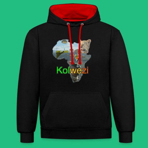 Kolwezi 2e REP - Sweat-shirt contraste