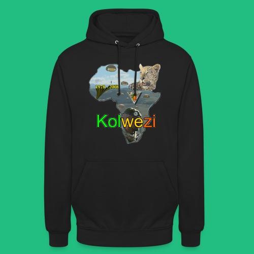 Kolwezi 2e REP - Sweat-shirt à capuche unisexe