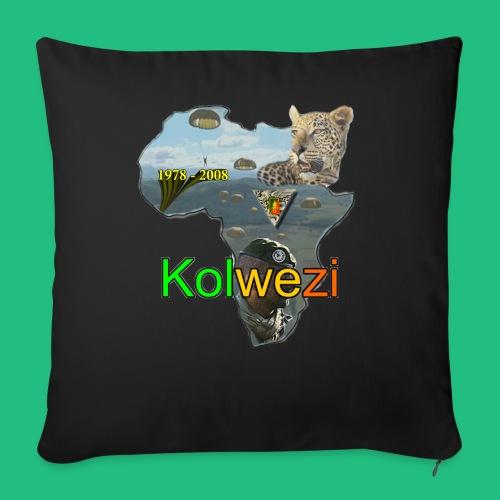 Kolwezi 2e REP - Housse de coussin décorative 44x 44cm