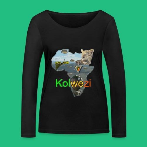 Kolwezi 2e REP - T-shirt manches longues bio Stanley & Stella Femme