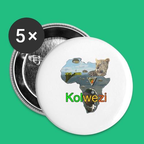 Kolwezi 2e REP - Badge moyen 32 mm